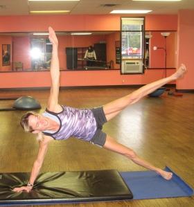 Pilates Star Pose