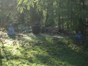 backyard Buddhas