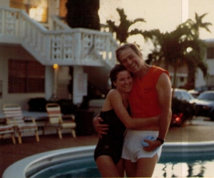 George and Beth in Florida