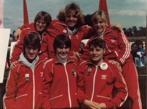 Canadian Women in Rome 1982