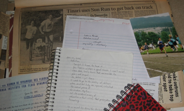 writing and photos from the past