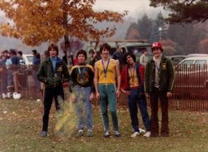 high school male runners