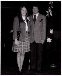 George and wife Carol
