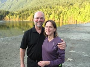 Keith and Nancy at Buntzen Lake
