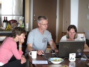 Working on photo presentation