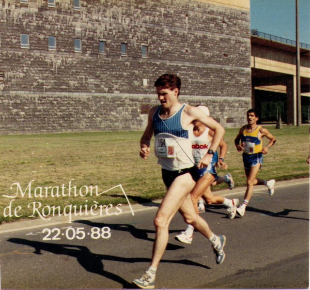 Paul Tinari at Marathon de Ronquieres