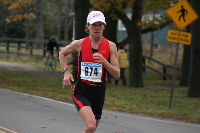 Beth Primrose at 2008 Niagara Falls Marathon