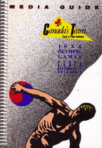 1988 Olympic Team Media Guide Athletics