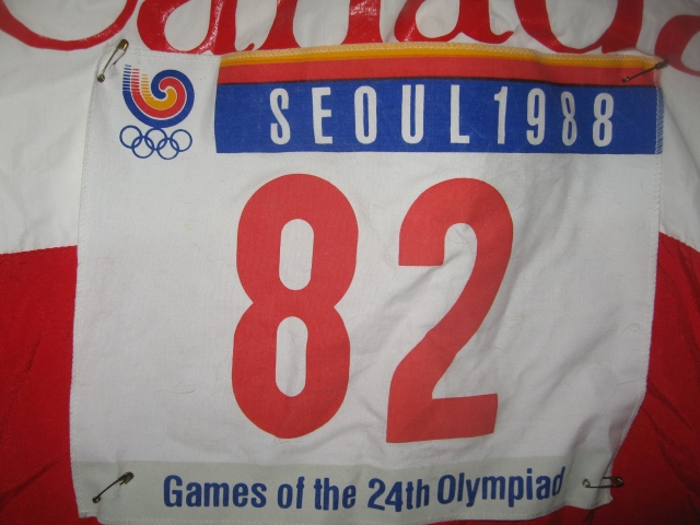 1988 Olympic sweatsuit jacket with number