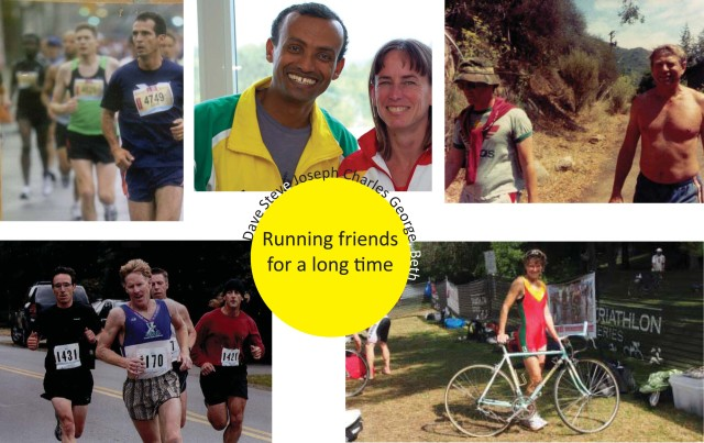 Nancy and oldest running friends