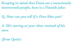 A Finnish joke