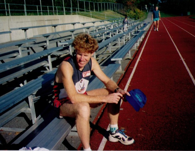 Photo of Dave Reed at Centennial Track.