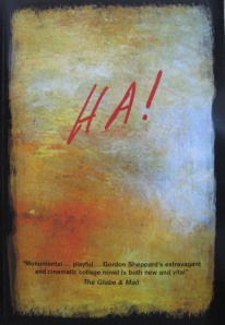 "Cover of Gordon Sheppard's ""Ha!"""