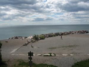 Lake Ontario from The Beaches neighbourhood