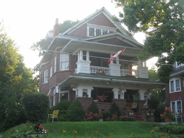 a mansion in The Beaches area of Toronto
