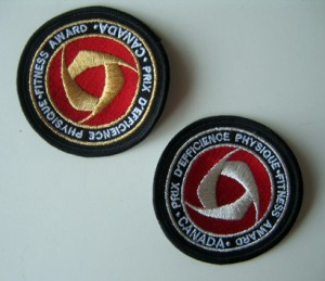 Canada Fitness Test badges
