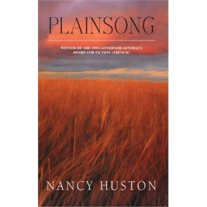Cover of Nancy Huston's Plainsong