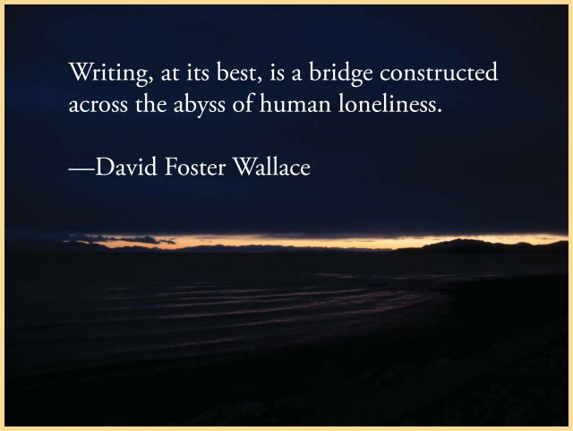 Quote from David Foster Wallace