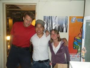 Paul, Jung Dae, and Nancy