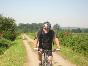 Keith Dunn riding