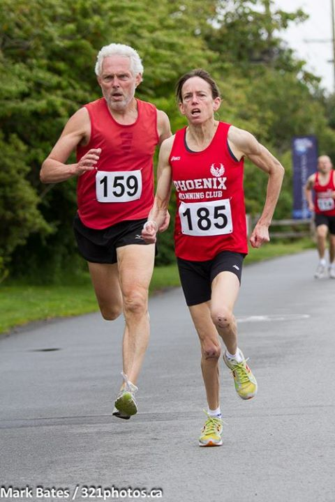 running at the Ambleside Mile