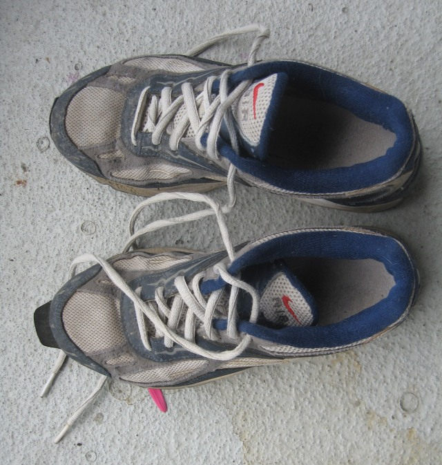 old Nike running shoes