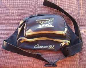 An old fanny pack