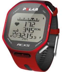 Polar RCX5 G5 sport watch