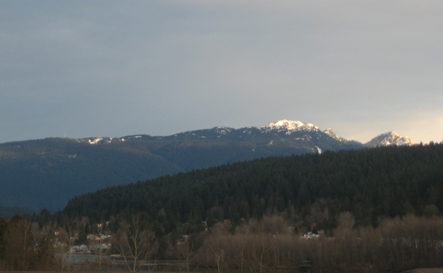 View of Mt. Seymour