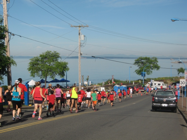 Both the scenery and patriotic spirit were spectacular at the Canada Day Rocks!