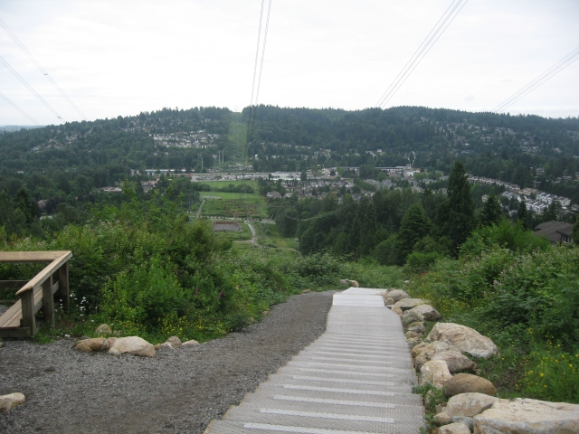 Coquitlam Crunch stairs