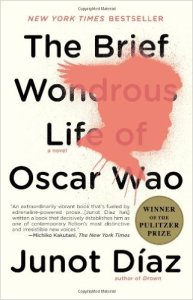 Cover of The Brief Wondrous Life of Oscar Wao by Junot Diaz