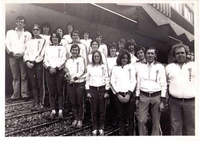 Canadian cross country team, 1978