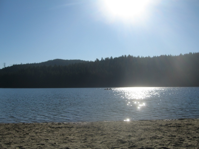 Indian summer at Sasamat Lake
