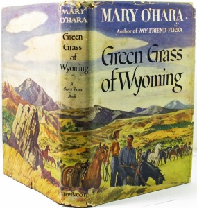 Green Grass of Wyoming book cover