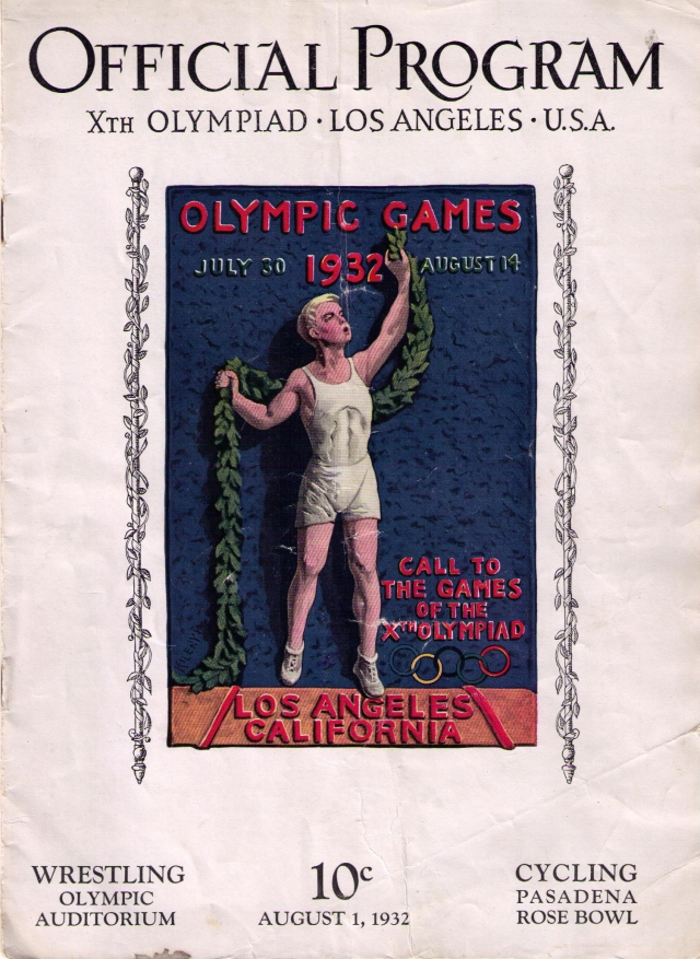 OfficialProgram1932Olympics